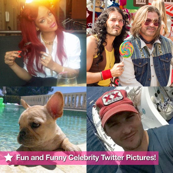Rihanna, Alec Baldwin, Peter Facinelli, and More in This Week's Fun and Funny Celebrity Twitter Pictures!