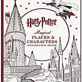 For 9-Year-Olds: Harry Potter Magical Places & Characters Coloring Book