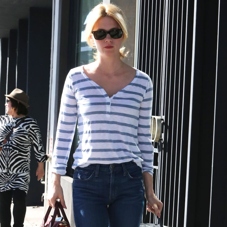 Celebrities Wearing Striped Shirts