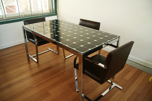 Eco Chic: Solar Power Executive Table