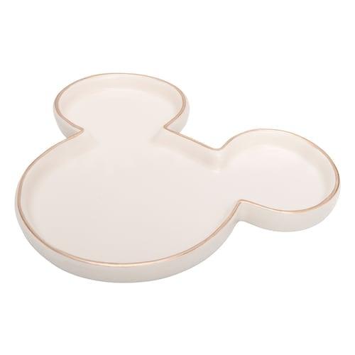 Disney's Mickey Mouse Rose Gold Tone Trim Trinket Tray