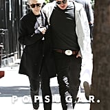 Carey Mulligan and Marcus Mumford grabbed lunch in Manhattan.