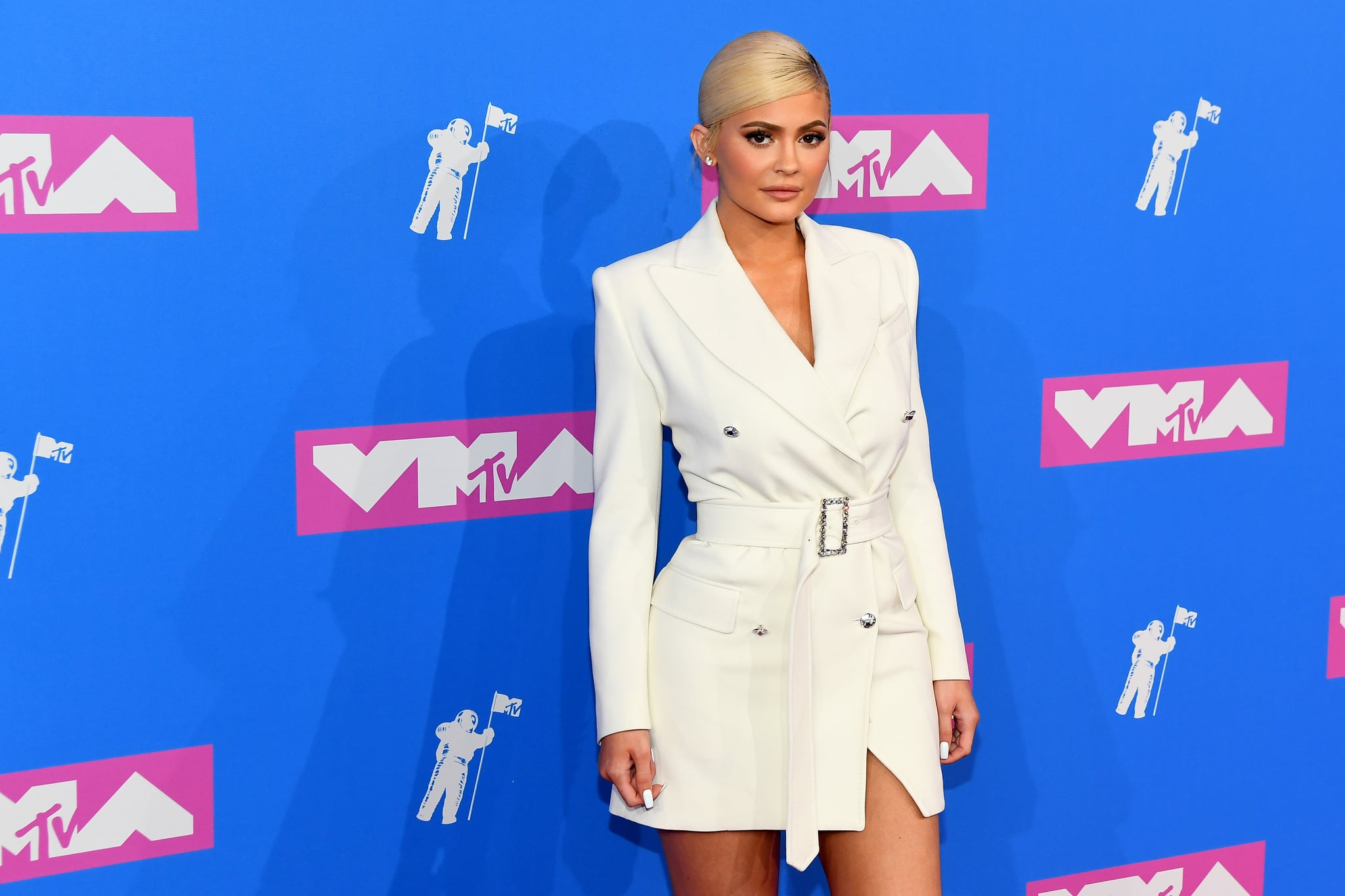 NEW YORK, NY - AUGUST 20:  Kylie Jenner attends the 2018 MTV Video Music Awards at Radio City Music Hall on August 20, 2018 in New York City.  (Photo by Nicholas Hunt/Getty Images for MTV)