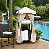Palm Harbor Outdoor Wicker Towel Valet