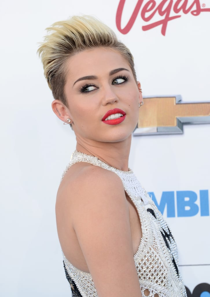 """Miley Cyrus Confirms New Single """"We Can't Stop"""" on Billboard Red Carpet"""