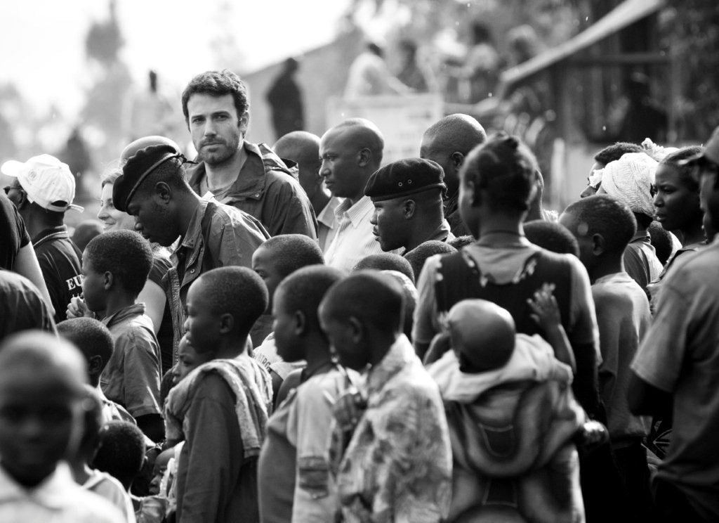 """Ben Affleck is on Facebook! More and more of our favorite celebrities are joining the world's largest social media network, and Ben is the latest to launch his own timeline page. Ben shared photos from Africa that were taken during one of his many philanthropic trips to the continent. He founded a nonprofit organization, Eastern Congo Initiative, in 2009 on behalf of the people living and working to rebuild the area following years of armed conflict. His group provides those living in the region with economic and social development to sustain and maintain a successful society. Ben says he's """"inspired"""" by the work being done there and is sharing the same uplifting message with his own family. He'll have one more little one to inspire pretty soon with Jennifer Garner expecting their third child this Spring."""