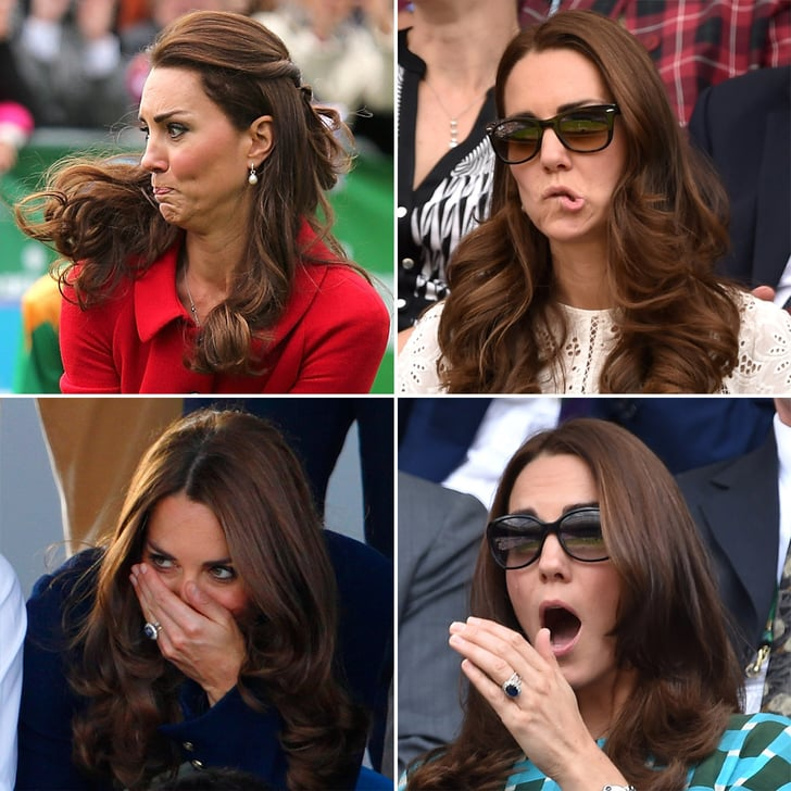 42 of Kate Middleton's Least Princess-y Facial Expressions