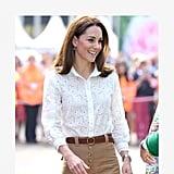 Kate Middleton Wearing Pants