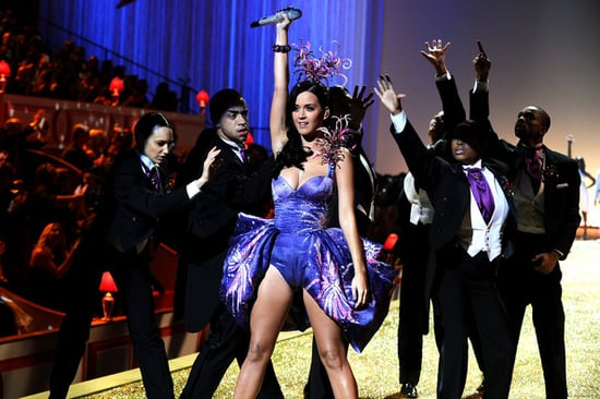 Katy Perry performs during the 2010 Victoria's Secret Fashion Show on November 10, 2010 in New York City