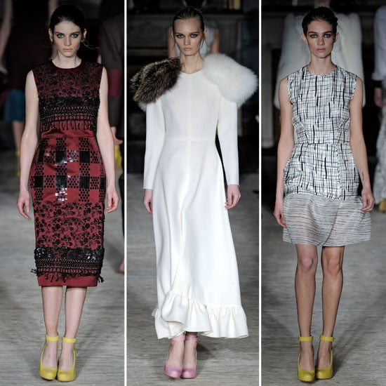 Review and Pictures of Roksanda Ilincic London Fashion Week Runway Show