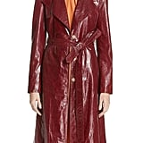 Magda Butrym Leather Trench Coat