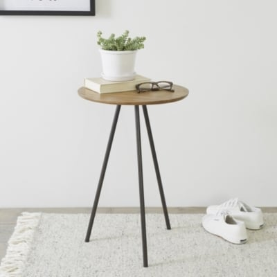 The White Company Brunel Tripod Side Table