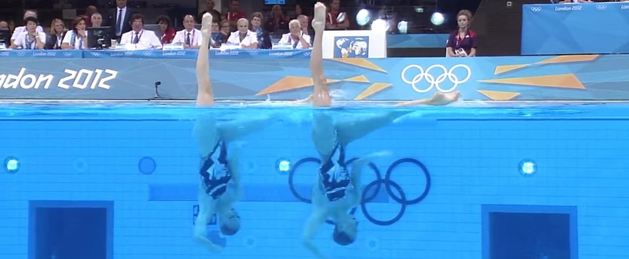 Michael Jackson Synchronized Swimming Routine