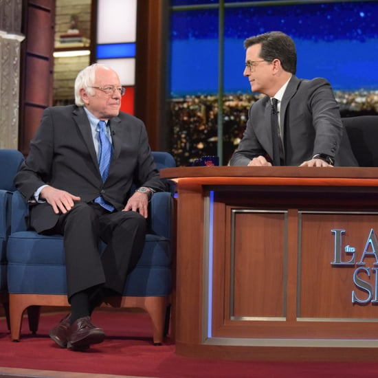 Bernie Sanders Talks With Stephen Colbert After the Election