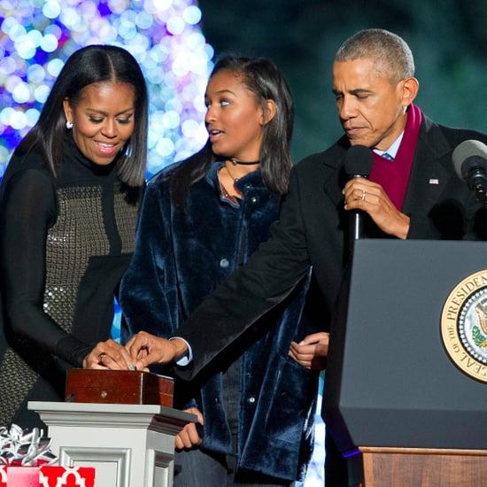 Sasha Obama's Coat Style
