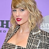 Taylor Swift's Plaid Carmen March Look at Sundance Festival