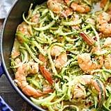Courgette Shrimp Scampi