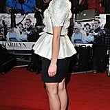 Emma Watson at the London premiere of My Week With Marilyn.