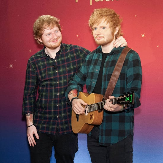 Ed Sheeran's Wax Figure