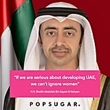 "Nithya  ""If we are serious about developing UAE, we can't ignore women."""