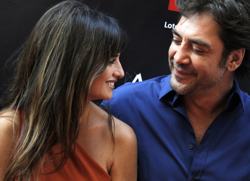 "Penélope and Javier's look of love at the 2011 opening of the ""street of stars"" in Madrid is almost too much to handle."