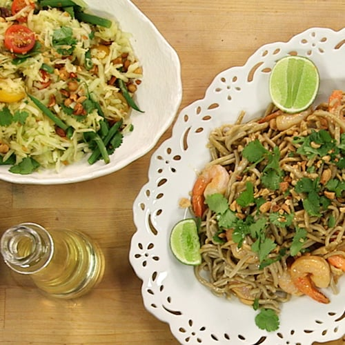 Shrimp Pad Thai With Soba Noodles