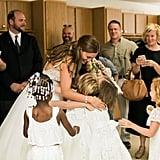 Teacher Has Class in Her Wedding