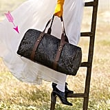 Westward Runaway Duffle in Plata Sequins, $1,295