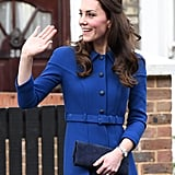 Kate Middleton at Anna Freud Centre in London January 2017