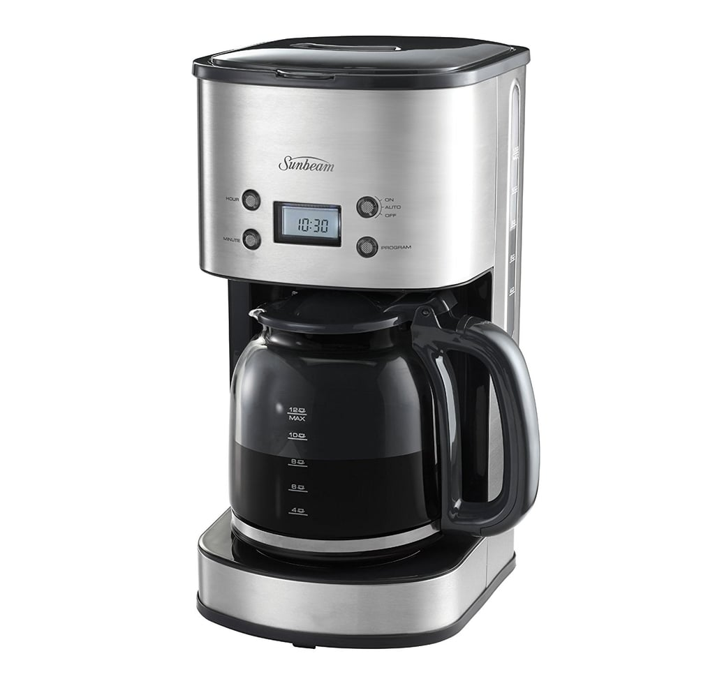 Sunbeam Drip Filter 12 Cup Electronic Coffee Machine ($59.95)