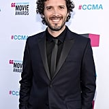 Bret McKenzie of Flight of the Conchords dons black on black at the CCMAs.