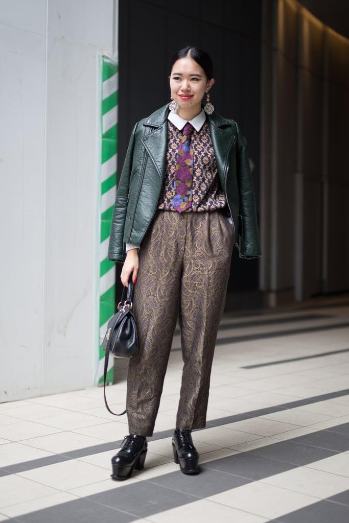 Tokyo Fashion Week Street Style Fall 2016 Popsugar Fashion