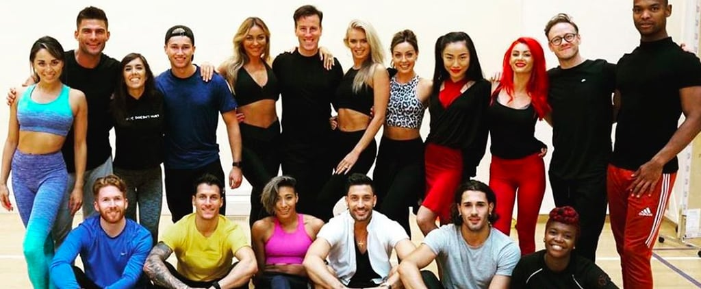 Strictly Come Dancing Professional Dancers on Instagram