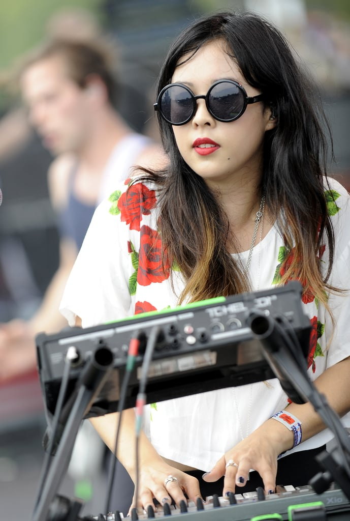 Beauty Looks From Lollapalooza 2011