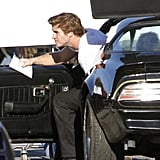 Liam Hemsworth shot a scene for Empire State in New Orleans.