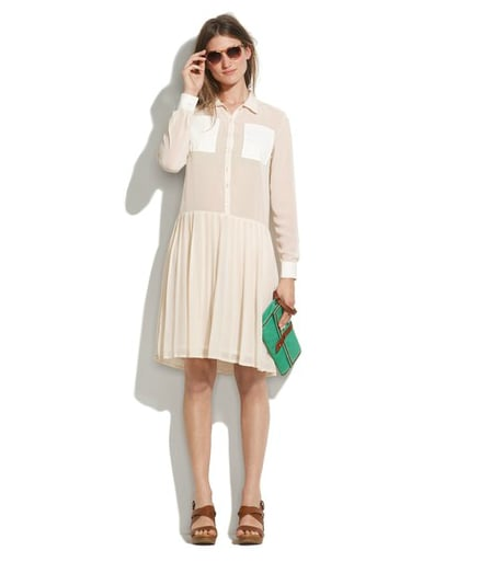 Le Mont St. Michel Shirtdress ($495)
