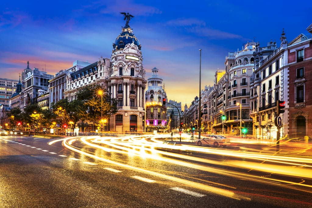 Best for 24-Hour Coffee: Madrid, Spain