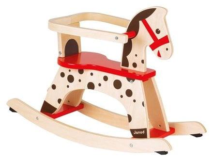 For Infants: Caramel Rocking Horse
