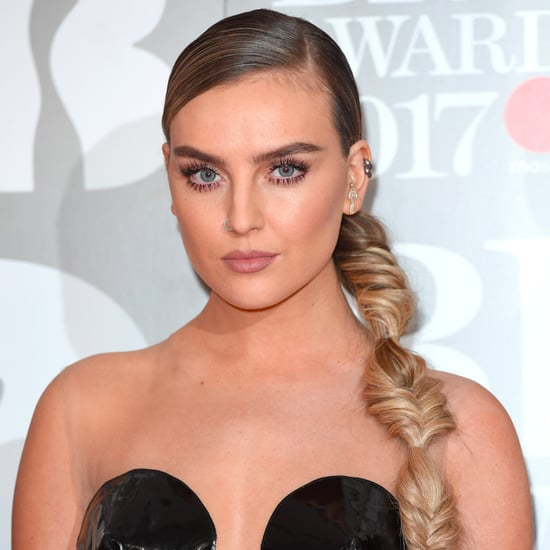 Perrie Edwards's Photo of Stomach Scar