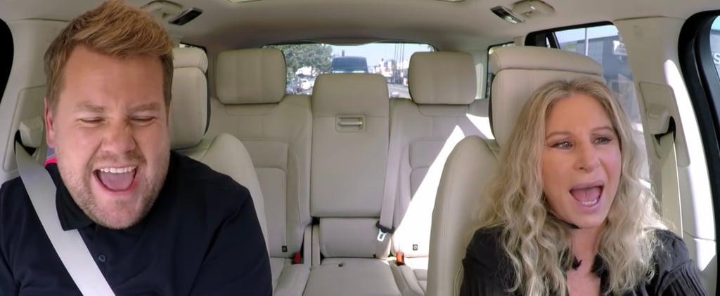 Barbra Streisand Carpool Karaoke Video