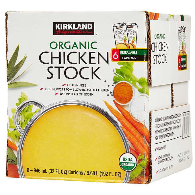 Kirkland Signature Organic Chicken Stock