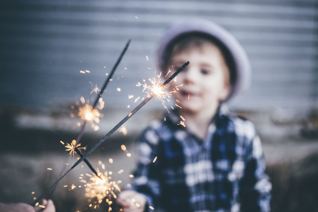 Play with sparklers (responsibly).