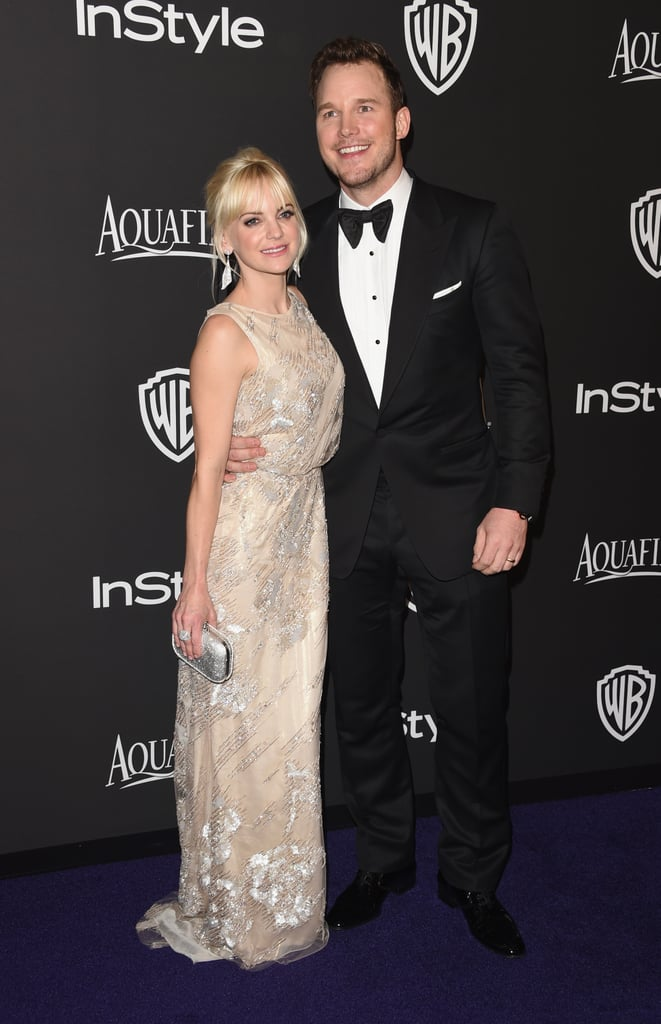 Chris pratt and anna faris at the golden globes 2015 popsugar cute couple chris pratt and anna faris stepped out for the golden globe awards in la sciox Gallery