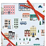 Snowy City Wrapping Paper