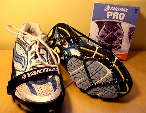 Use YakTrax or STABILicers to Run in Snow and Ice