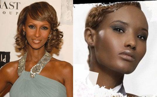 Model Clones: Fatima from America's Next Top Model + Iman