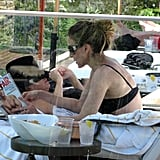 Sarah Jessica Parker Relaxes in Her Bikini and Enjoys Shirtless Rob Lowe