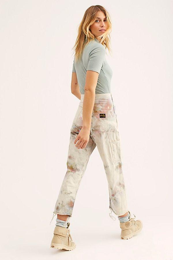 Free People Tie Dye Utility Pant