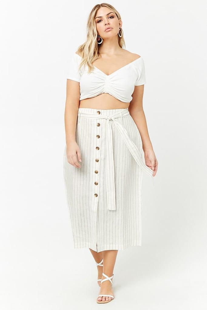 Forever 21 Maxi Skirt Set