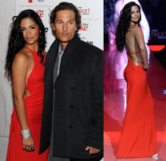 Pictures of Camila Alves, Julianne Hough, Denise Richards, and Audrina Patridge at the Heart Truth's Red Dress Event 2011-02-10 01:00:37